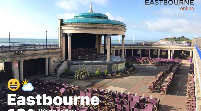 Eastbourne Bandstand Wednesday 25th April 2018