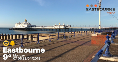 Eastbourne Pier, Monday 24th April 2018