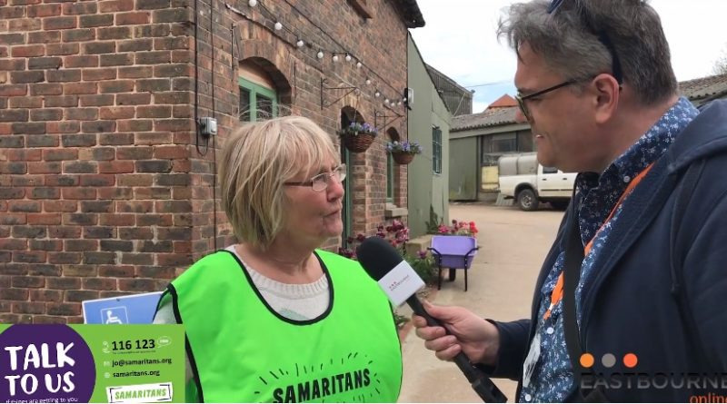 Eastbourne Samaritans fundraising day – Interview with Ronnie Clark