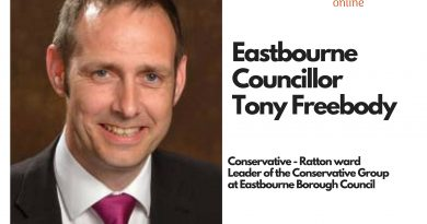 Eastbourne Borough Councillor Tony Freebody