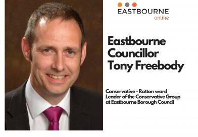 Eastbourne Borough Councillor Tony Freebody